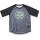 Dakine Dropout S/S Jersey Kids Carbon/Black